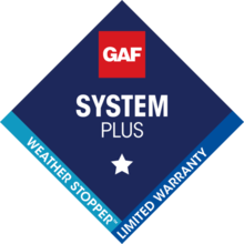 Fine Line Improvements offers GAF System Plus Limited Warranty.